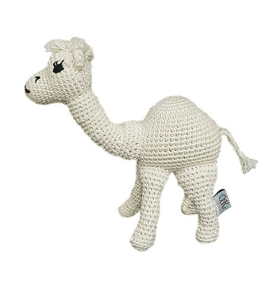 Handcrafted Crochet Camel - Al-Qaswa
