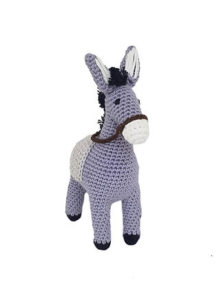 Handcrafted Crochet Donkey -'Ufair