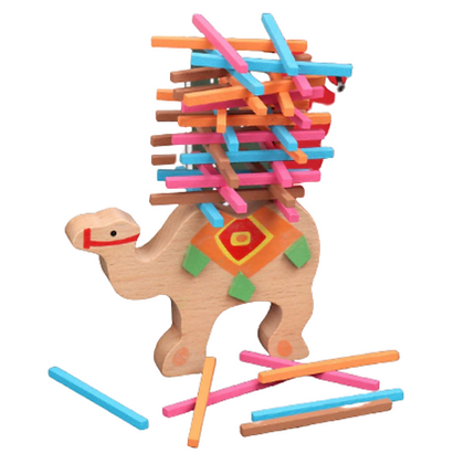 Camel balancing toy