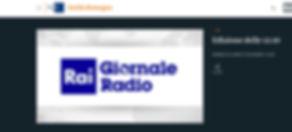 RAI GIORNALE RADIO 18 OTTOBRE EDIZIONE O
