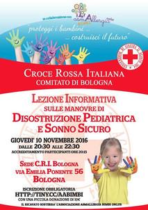 Corso di Manovre Salvavita Pediatriche e Sonno Sicuro