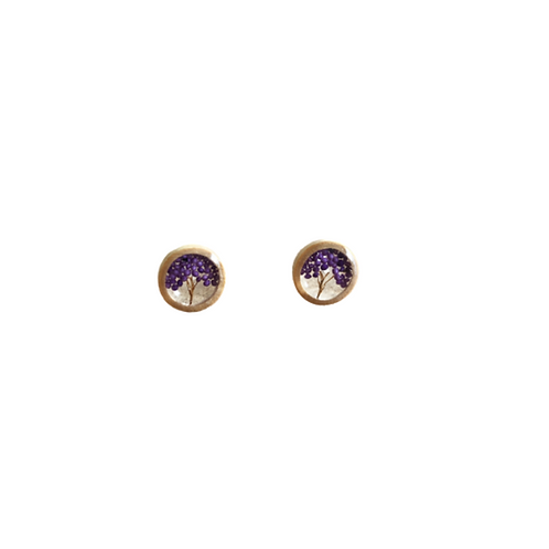 Bamboo and Purple Amaranth