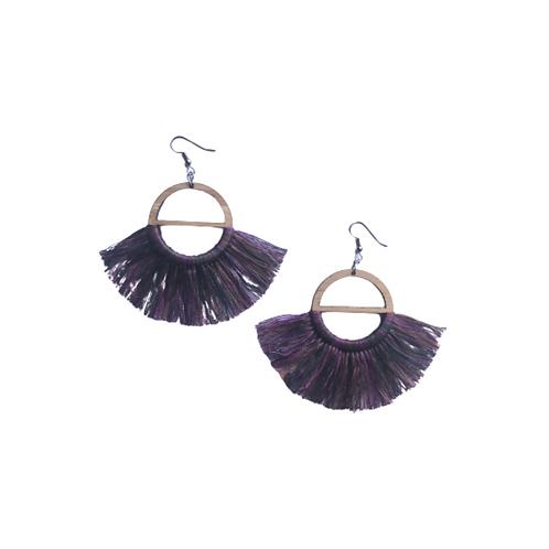 Bamboo & Cotton Thread - Purples/Greens/Brown