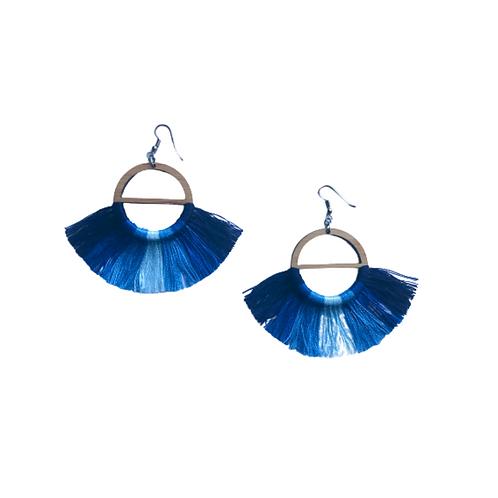 Bamboo & Cotton Thread - Shades of Blue