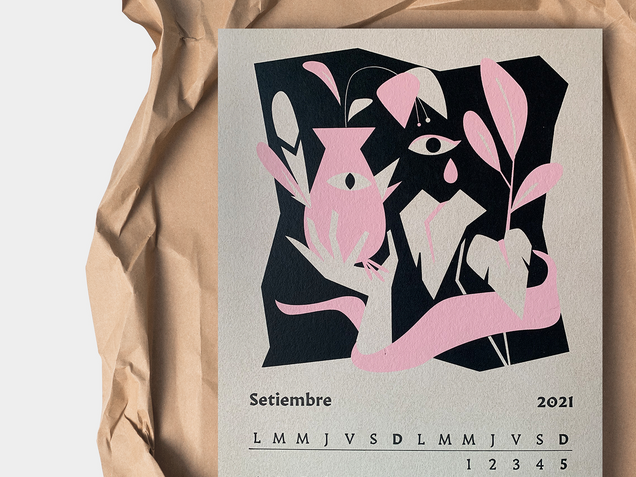Calendario Caja Baja