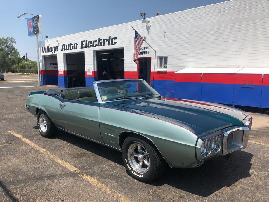 We love classic automobiles