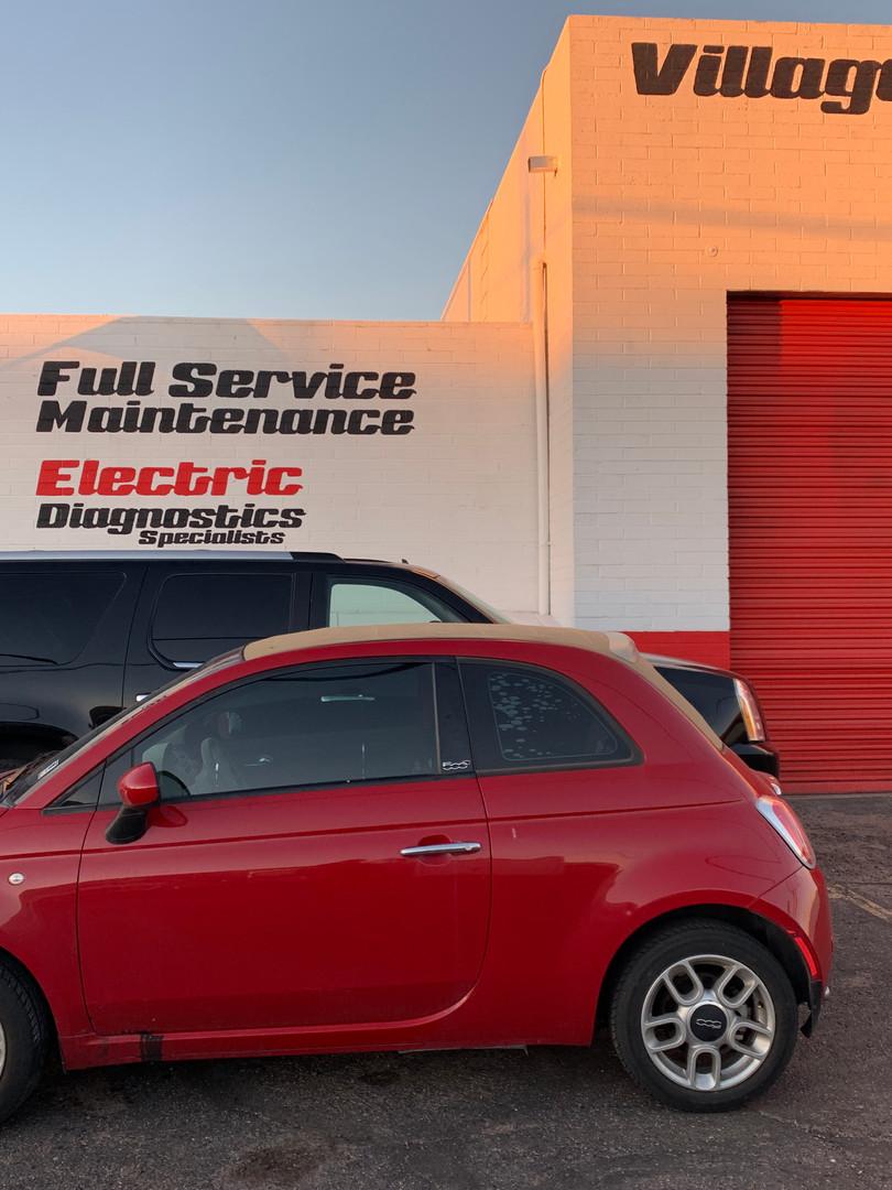 fiat repair and maintenance