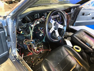 re wiring a vehicle