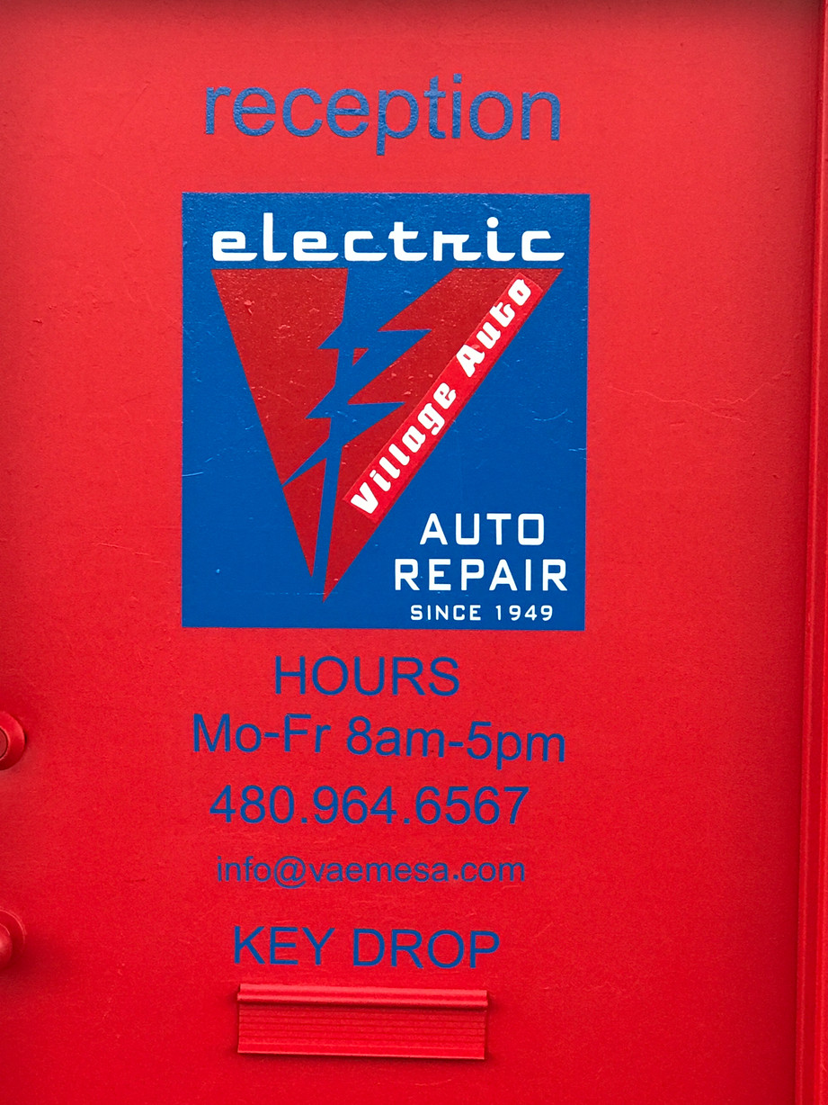 OPEN 24/7/365 to drop off your vehicle