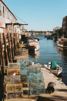 Balıkçı köyü