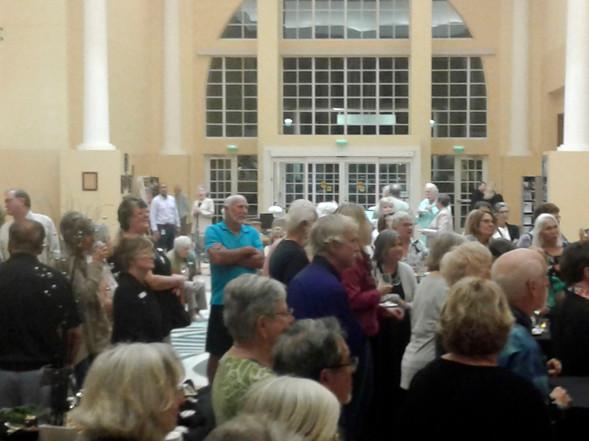 Everyone enjoyed opening night!