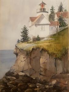 Bar Harbor Lighthouse in Maine