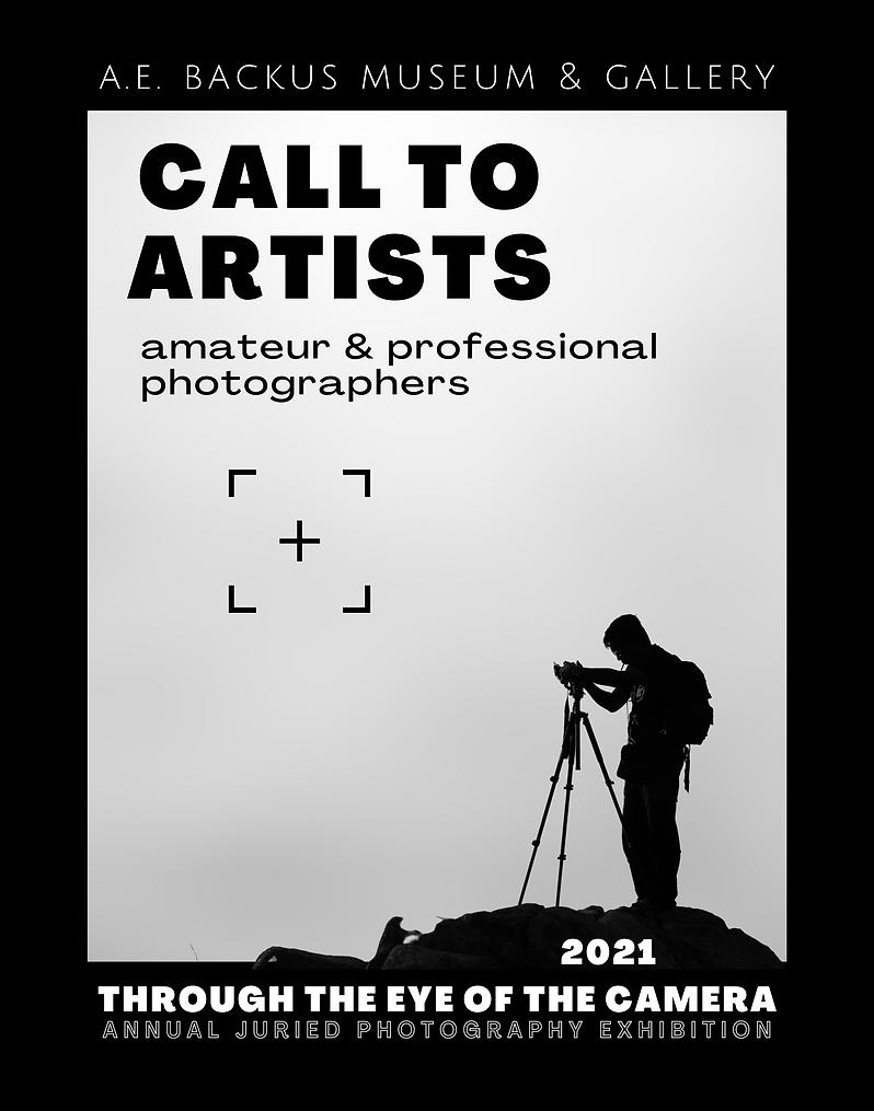 Call to Artists – 2021 Through the Eye o