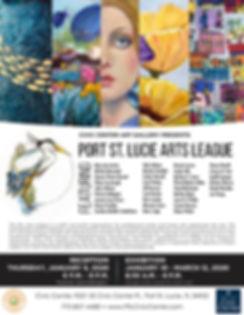 PSL Arts League Exhibition Flyer 2020.jp
