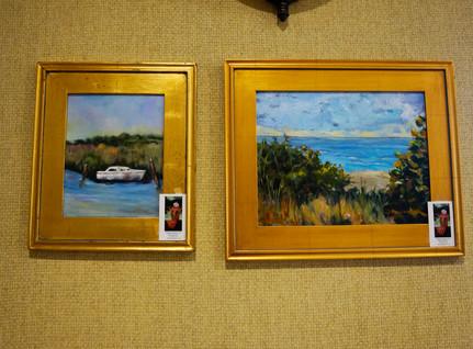Left: Stuart Beach Right: At Ease