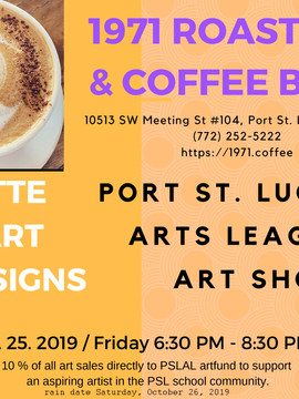 1971 Roasters & Coffee Bar Art Show 2019