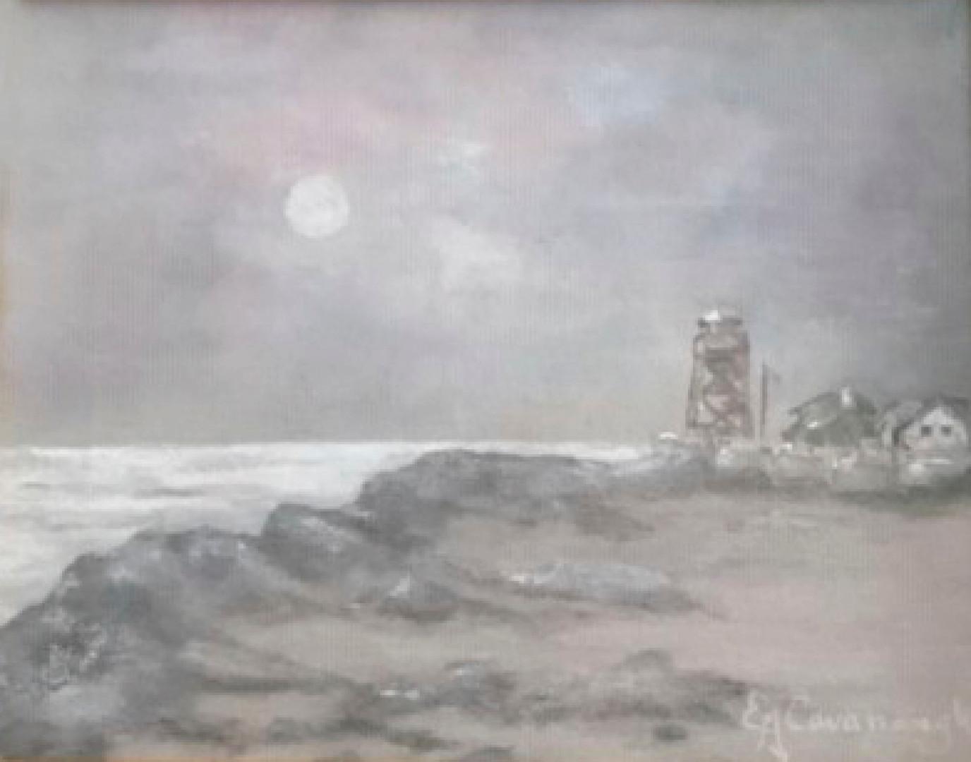 Landmark in Moonlight