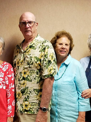 Elaine Pribish, Don Musante, Donna Franklin and Patty White