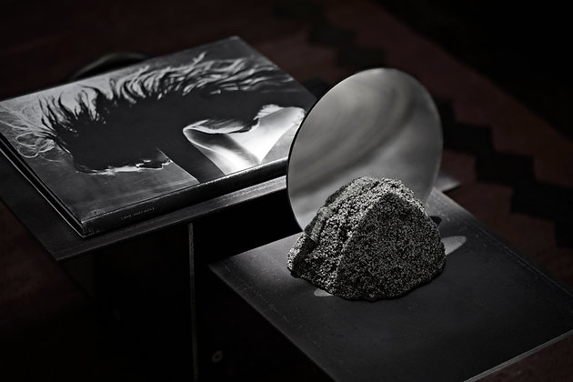 Moon sand / Table Mirror