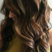 Hair recolour with Balayage
