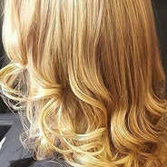 Hair highlight and finish with heated equipment by our top stylist