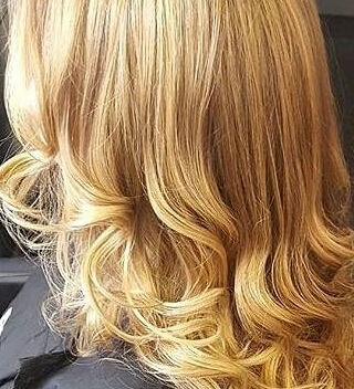 Curly Blow-Dry for Long Hair