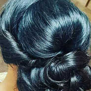 Hair-up for a special occasion