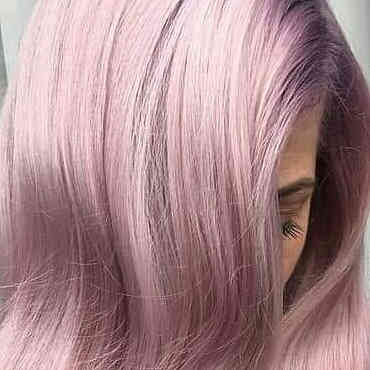 Trendy pink hair, lifted and coloured