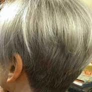 Haircut and finish with natural hair