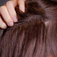 Individual hair tracks to add length and volume