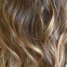 Root colour with Ombre