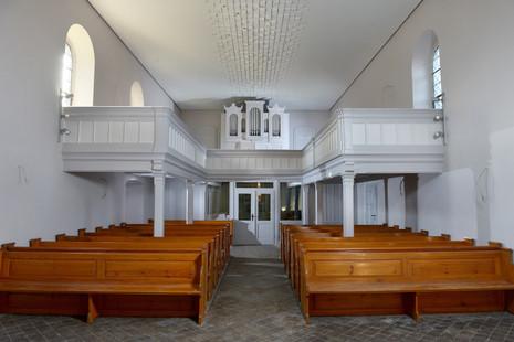 Neuer Blick zur Orgel
