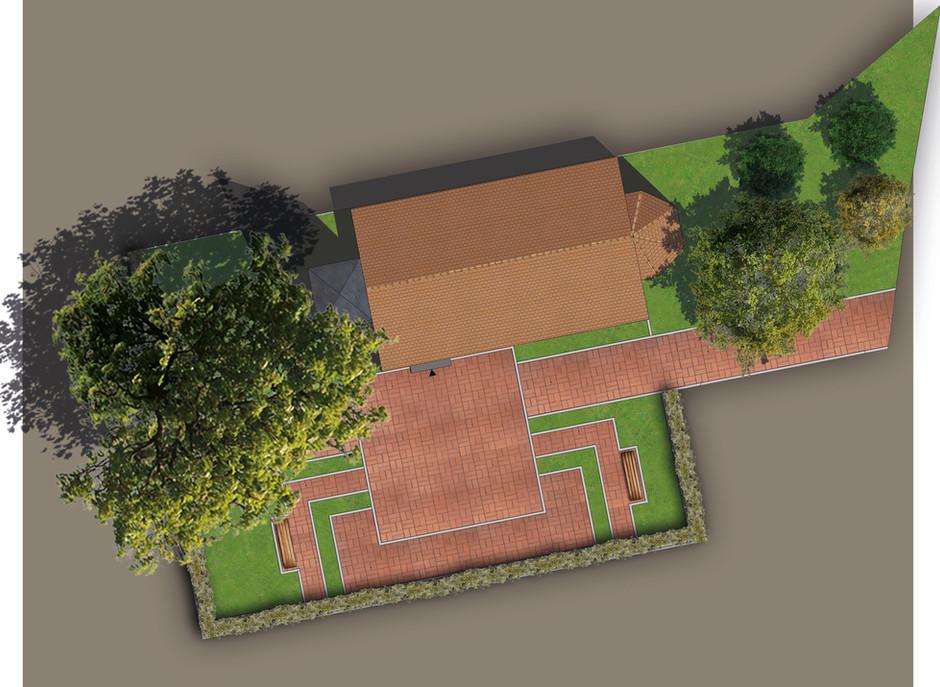 Freiflächenplan