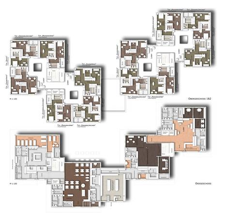 Erdgeschoss & Obergeschoss 1