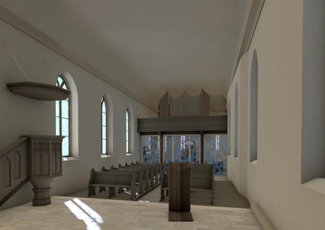 Blick zur Winterkirche