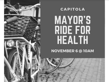 Capitola Mayor's Ride for Health