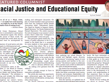 Racial Justice and Educational Equity