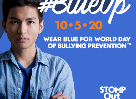 Wear Blue For World Day Of Bullying Prevention