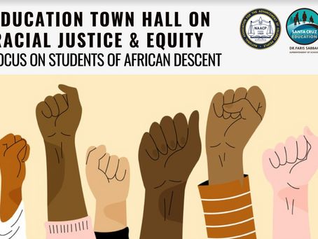 Education Town Hall On Racial Justice & Equity!
