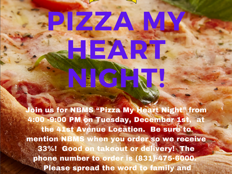Pizza My Heart Night!