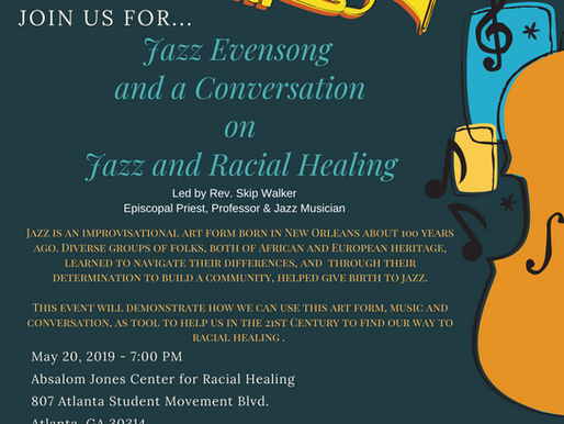Jazz Evensong and a Conversation on Jazz and Racial Healing