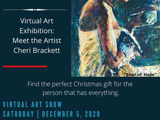 Celebrating Women: Virtual Art Exhibition | Meet the Artist Cheri Brackett