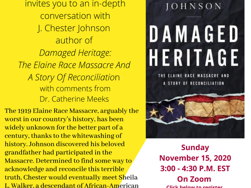 A Conversation with J. Chester Johnson, author of Damaged Heritage