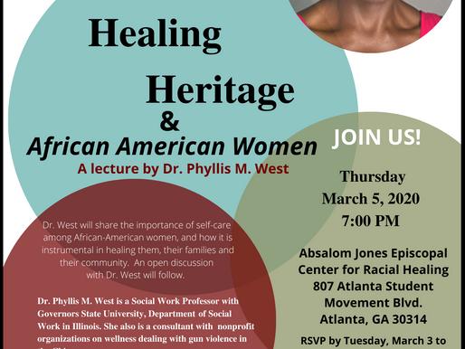 Health, Healing, Heritage & African American Women