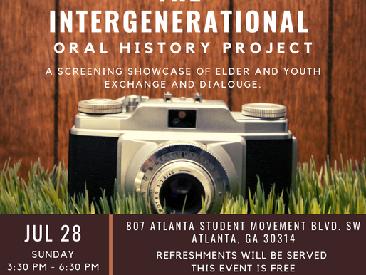 Intergenerational Oral History Project
