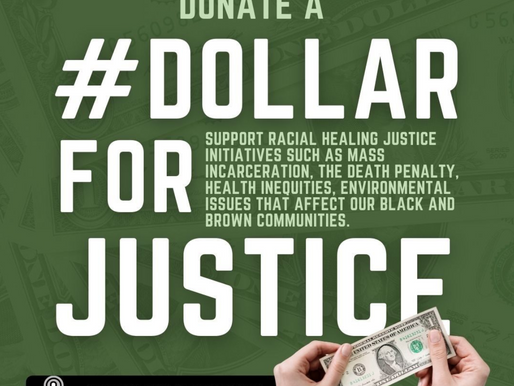 #DOLLARFORJUSTICE CAMPAIGN