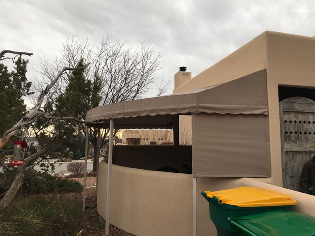 Patio Awning Before
