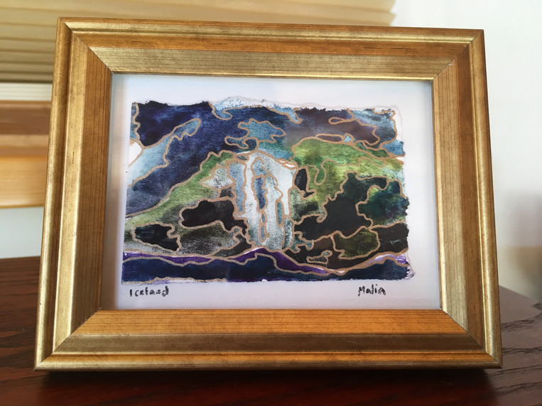 Iceland Waterfall - SOLD