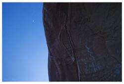 Petroglyph Moon