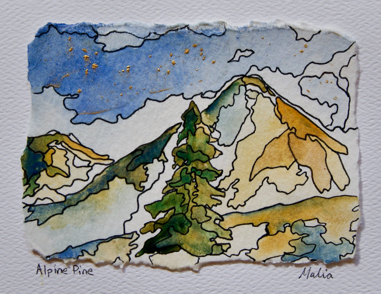 Alpine Pine - SOLD